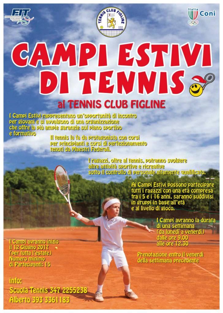 campi estivi di tennis