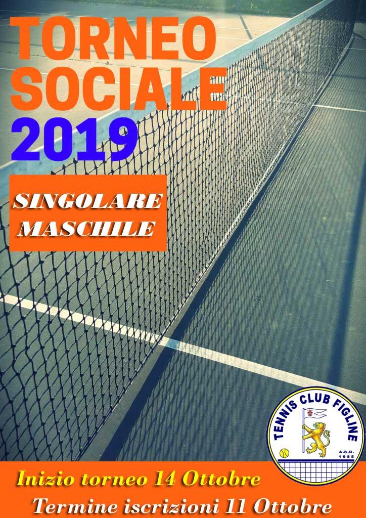 Torneo Sociale Singolare Maschile 2019